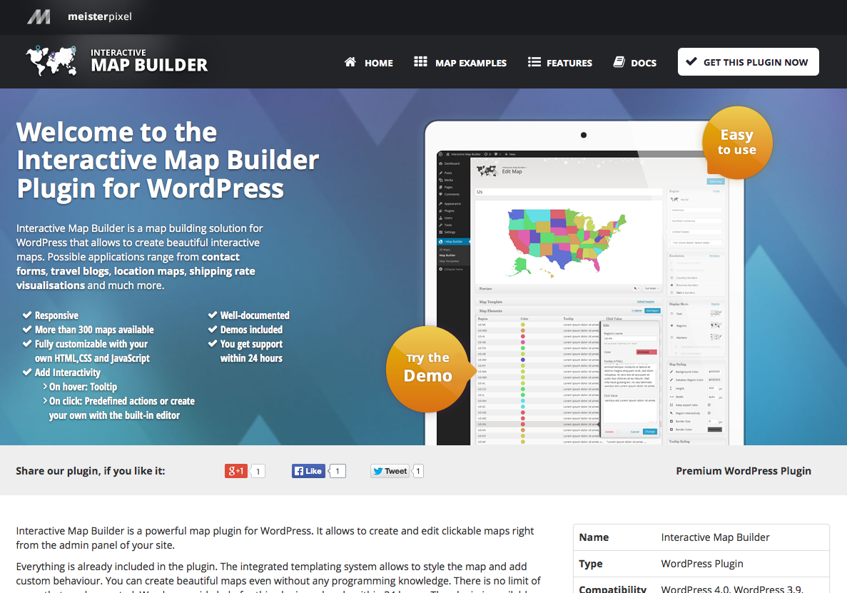 Interactive Map Builder - WordPress Plugin | Official Website